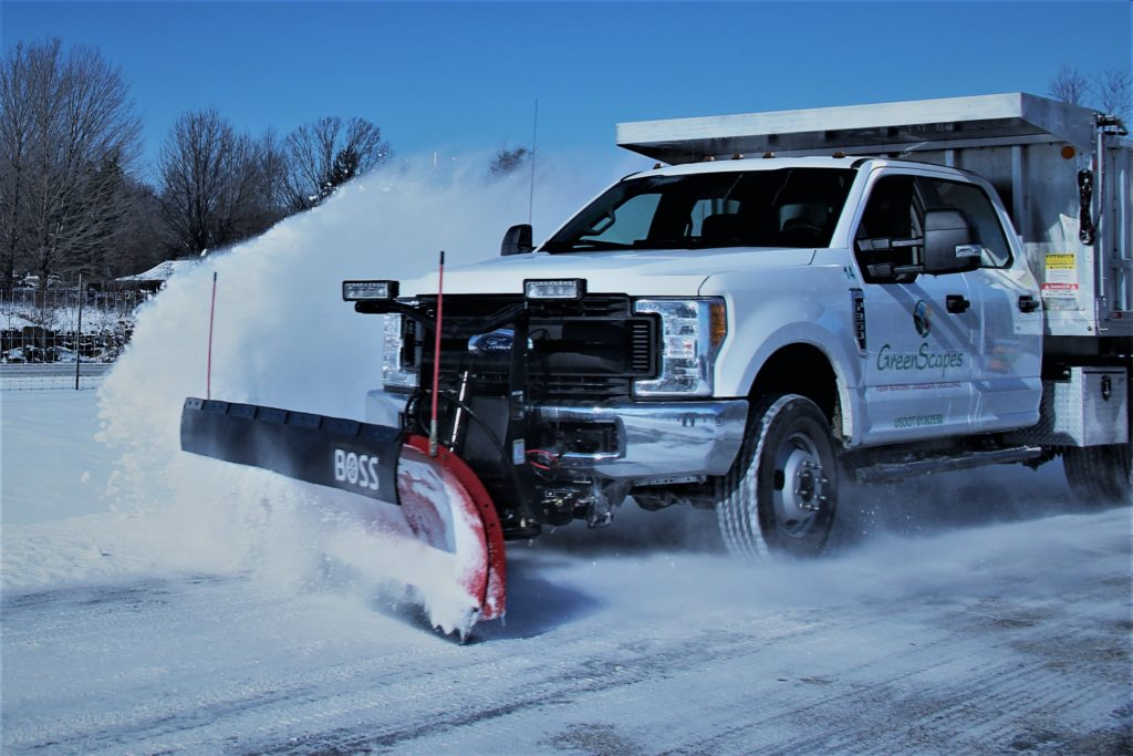 GreenScapes Snow Plow