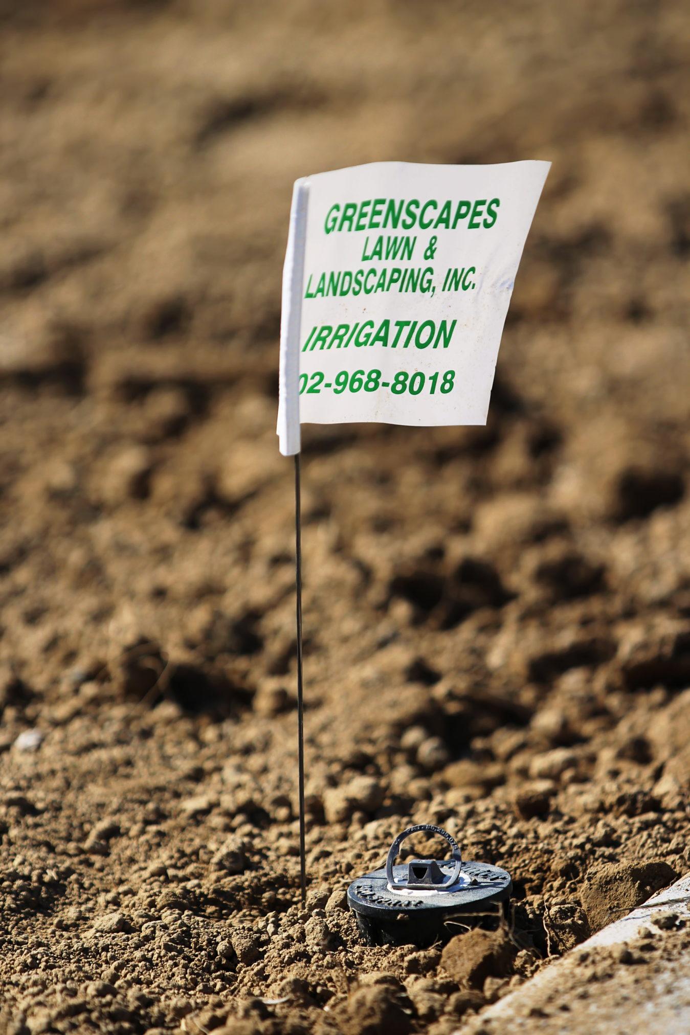 Irrigation GreenScapes flag