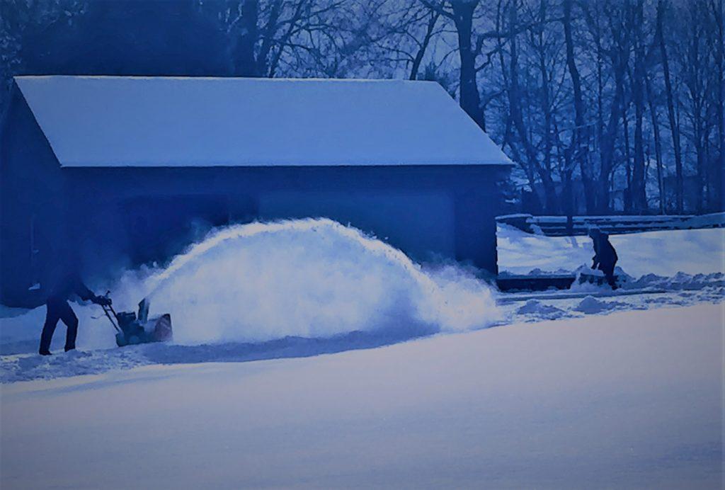 Sidewalk Snow Blower